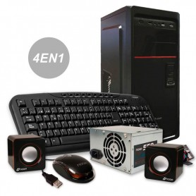 GABINETE DE PC KIT NOGA 6603 + TECLADO + MOUSE + PARLANTES