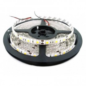 TIRA LED 5050 ROJO 5MT 60 LED X MT 12V/24V interior