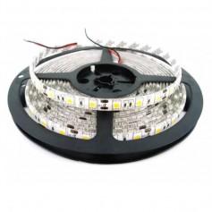 TIRA LED 3528 BLANCO CALIDO 5MT 60 LED X MT 12V/24V exterior