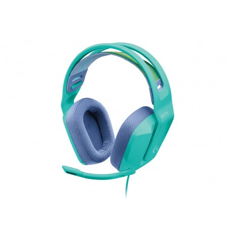 Auricular Gamer Logitech G335 Mint Con Microfono Headset Gaming Pc Ps4 Xbox