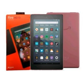 Tablet 10.1 Amazon Kindle Fire Hd 10 Octacore 2Ghz 2Gb 32Gb 1920X1200 Wifi Dual Band Alexa Expandible 512 Dolby Atmos Roja