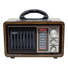 Radio Retro Portatil Nisuta Am Fm Bluetooth Recargable Nsrv18 Bluetooth Auxiliar Linterna