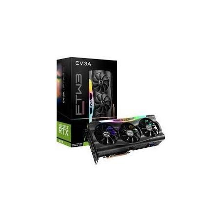 Placa De Video Rtx3070Ti Ftw3 8Gb Ultra Gaming Evga Gddr6 Hdmi Displayport Leds
