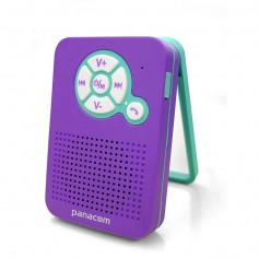 PARLANTE MULTIMEDIA WATERPROOF PANACOM SP-1518BT VIOLETA