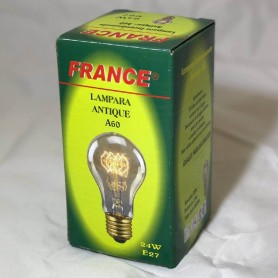 LAMPARA ANTIQUE A60 E27 20W FRANCE