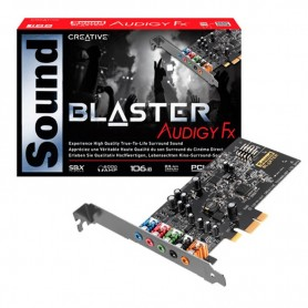 PLACA SONIDO SOUND BLASTER AUDIGY FX PCI-E SB1570