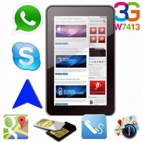 TABLET KELYX W7413 7 PULGADAS INTEL ATOM X3 1GB RAM 16GB 3G GPS BLUETHOOT + FUNDA REGALO