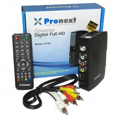 CONVERSOR TV DIGITAL FULL HD XT34 PRONEXT