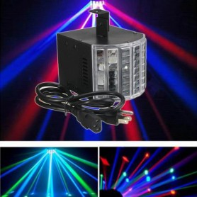 MINI DERBY LED AUDIORITMICO REPRODUCTOR MP3 CONTROL DJ