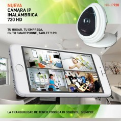 Camara Ip Inalambrica Noga Ng-Ip720 Hd Wifi App Hi-Fi