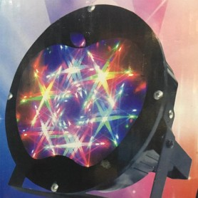 LUZ LED 3D RGB CON FORMA MANZANA EFECTO DJ WT6605