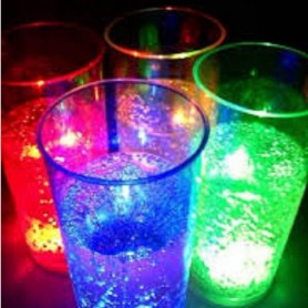 VASOS LUMINOSOS CON LUZ LED EVENTOS FIESTAS