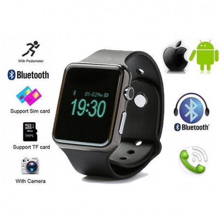 SMARTWATCH KELYX W8 BLUETOOTH ANDROID IOS RELOJ CAM