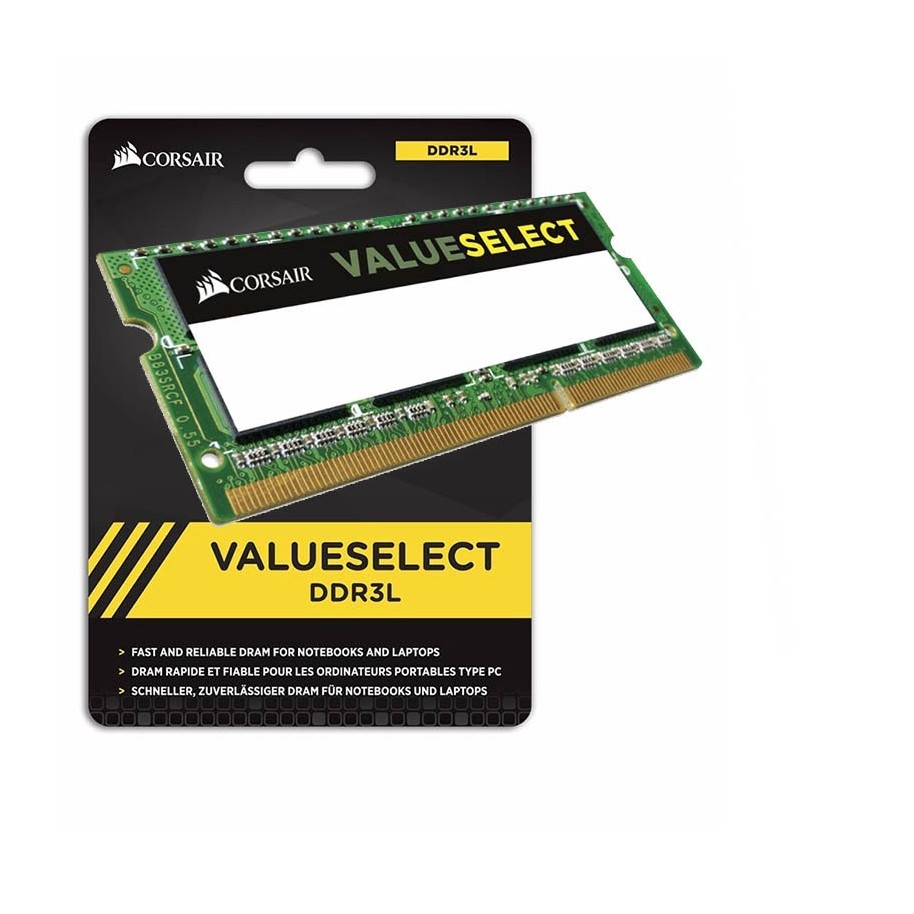 Memoria Ddr3 Sodimm 8gb 1600 Mhz Corsair Value Select Notebook
