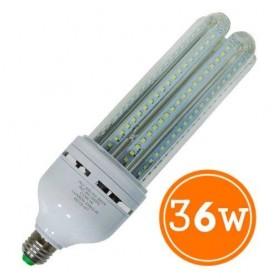LAMPARA BULBO LED ROSCA E27 36W LUZ FRIA