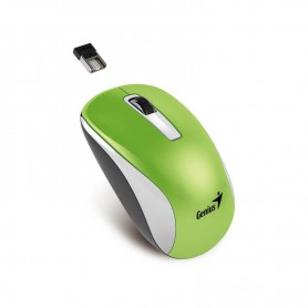 MOUSE GENIUS WIRELESS INALAMBRICOS NX-7010 VERDE BLUEYE