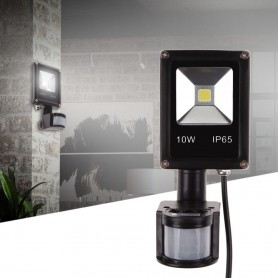 REFLECTOR LED 10W CON SENSOR MOVIMIENTO