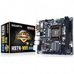 MOTHER GIGABYTE H97N-WIFI SOCKET 1150 INTEL DDR3 USB 3.0 HDMI DUAL DVI