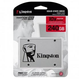 DISCO RIGIDO SOLIDO SSDNOW 240GB UV400 KINGSTON SATA INTERNO 7MM