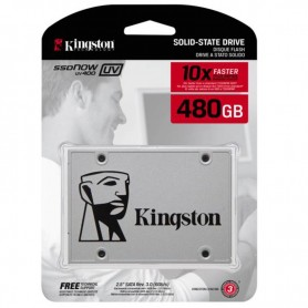 DISCO RIGIDO SOLIDO SSDNOW 480GB UV400 KINGSTON SATA INTERNO 7MM