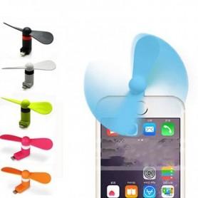 Ventilador Celular Mini Usb Iphone Android Samsung Colores