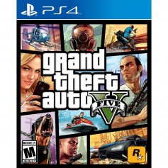 JUEGO PS4 GTA V GRAND THEFT AUTO V PLAYSTATION 4 FISICO