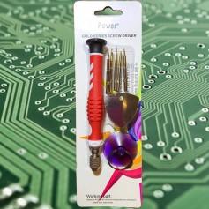 Juego Destornilladores 8 Piezas Electronica Celular