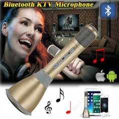 MICROFONO INALAMBRICO KARAOKE MAGIC BLUETOOTH + USB + LECTOR TARJETAS
