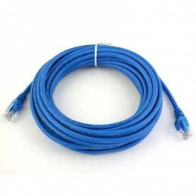 CABLE RED PATCHCORD 5MTS UTP RJ46