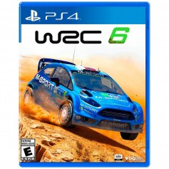JUEGO PS4 WAC 6 WORLD RALLY CHAMPIONSHIP