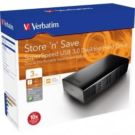 DISCO RIGIDO EXTERNO HD 3TB VERBATIM 3.5