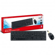 TECLADO Y MOUSE GENIUS SLIMSTAR 8000ME WIRELESS