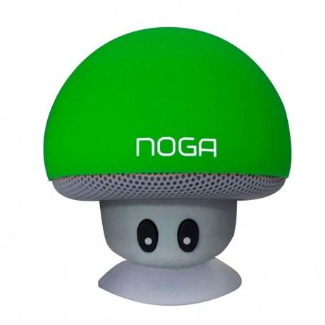 Parlante Bluetooth Hongo Noga Ng-P074 Sopapa Verde