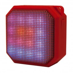 PARLANTE BLUETOOTH NOGA NG-P18 LED ROJO CON LUCES