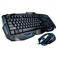 TECLADO Y MOUSE GAMER IT 2 NOGANET RETROILUMINADO