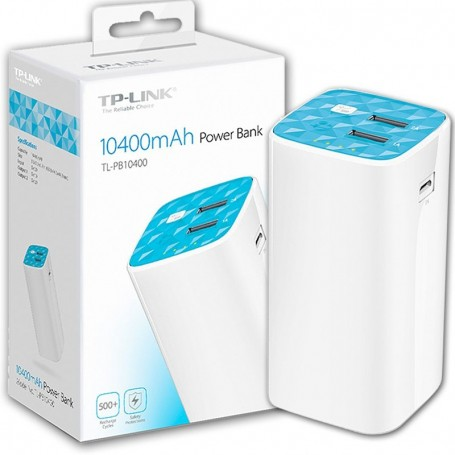 POWER BANK TP LINK 10400MAH TL-PB10400