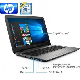 "NOTEBOOK HP 15-AY196NR 15.6"" LED TACTIL I7 7500 2.7GHZ 8GB DDR4 1TB WIN 10"