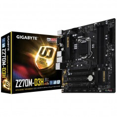 MOTHER GIGABYTE Z270M-D3H INTEL SOCKET 1151 USB 3.1 DDR4 HDMI USB TYPE C
