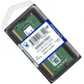Memoria Ddr4 4Gb 2400 Mhz Sodimm Kingston Kvr24S17S8/4 Notebook
