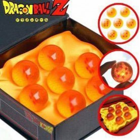 LAS 7 ESFERAS DEL DRAGON BALL 4.5CM