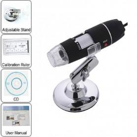 MICROSCOPIO DIGITAL 1000X ZOOM 30FPS CON LUZ LED Y668-16-33
