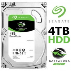 DISCO RIGIDO 4TB SEAGATE BARRACUDA HDD 7200RPM 64MB CACHE 6.0GB/S SATA III 3.5
