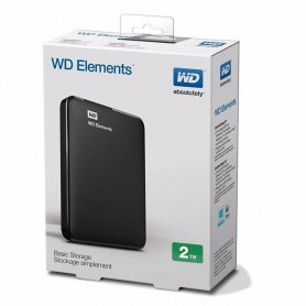 DISCO RIGIDO EXTERNO HD 2TB WD ELEMENTS USB 3.0