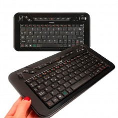 MINI TECLADO INALAMBRICO NOGA NKB-K3 CON MOUSE TRACKBALL Y SCROLL CONTROL REMOTO TV