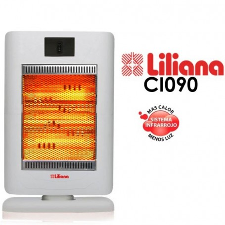 ESTUFA CALEFACTOR INFRARROJO LILIANA CI090 SUNNY 1400 WATTS