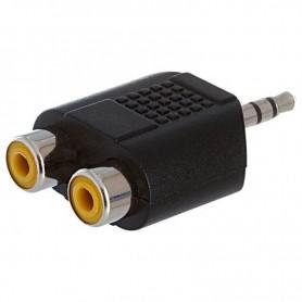 Adaptador Plug 3.5 M A Stereo A Jack 2 Rca M