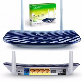 Router Tp-Link Dual Band 2 Antenas 750Mb Ac750 Archer C20