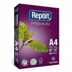 Resma A4 Report 90Gr Premium Blanco 500 Hojas