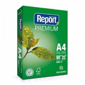 RESMA A4 REPORT 80GR PREMIUM BLANCO 500 HOJAS