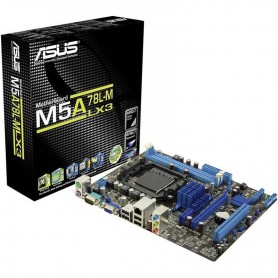 MOTHER ASUS M5A78L-M LX3 SOCKET AM3+ AMD DDR3 USB 3.0 SIN VIDEO PCI EXPRESS